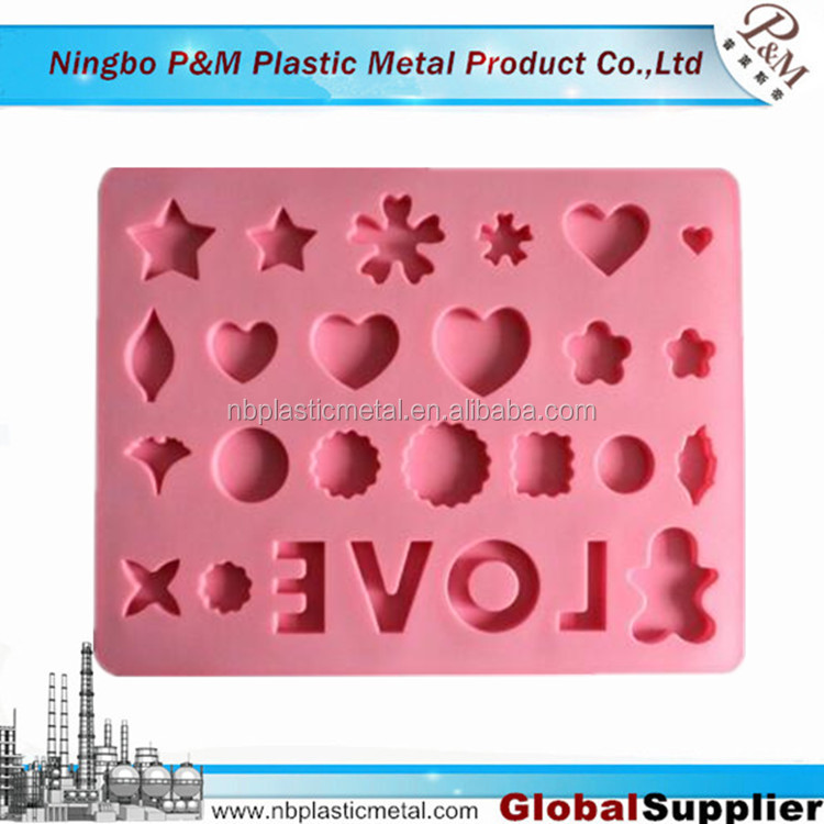 Cheap silicone mold from silicone sealant silicone molding factory