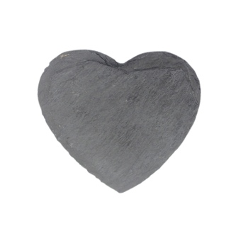 High-end romantic heart shape wedding favors gifts slate placemats