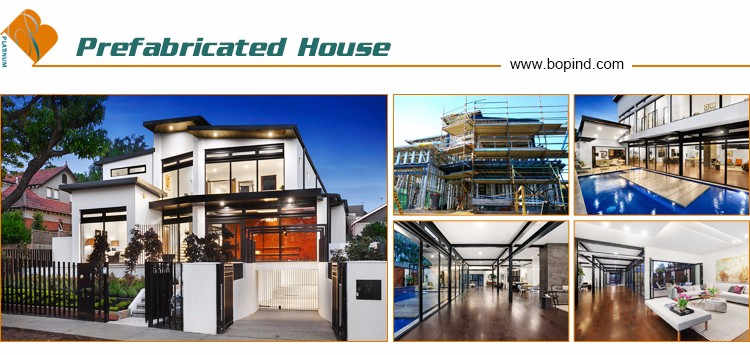 prefabricated high-rise heavy steel frame mansion building