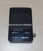 AZSAT Mini HD Satellite Receiver with Ethernet WiFi supporting CCCam Newcam Mgcam