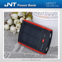 Wholesale Travel Rechargeable Solar Power Bank