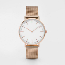 Japan movement fashion mesh band daniel wellington watches men