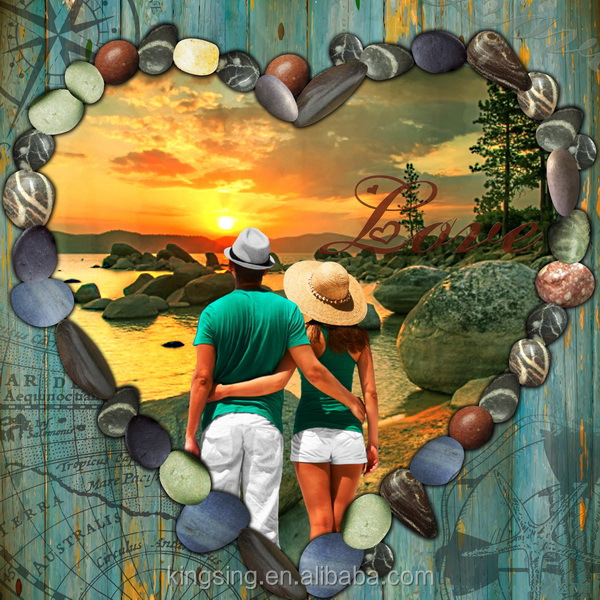 High quality Digital Printing Canvas /Romantic couple Artist Canvas Roll 63335