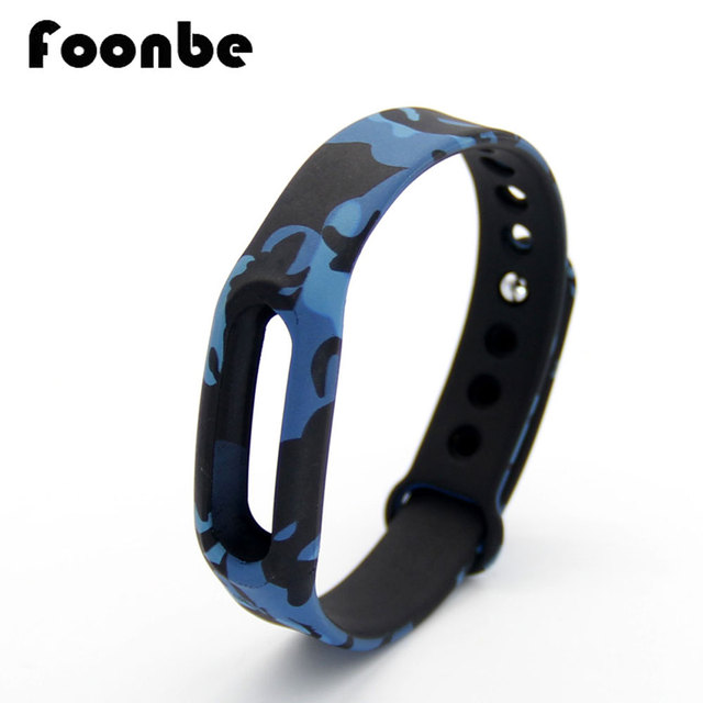 Best Camouflage Silicone Belt Strap For Xiaomi For Mi Band 1A 1S  Wristband Strap Replacement Band Bracelet Accessories