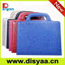 hot selling Disyaa Genuine Leather Laptop Sleeve
