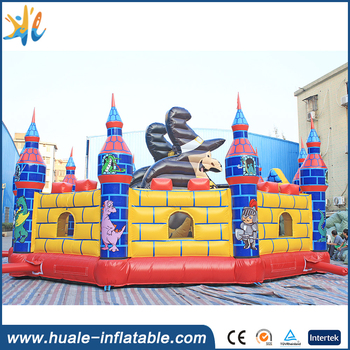 Hot sale inflatable combo, inflatable castle slide, inflatable bouncing castle for kids