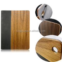 wooden leather case for Ipad 5 , carving wood case for Ipad Air