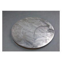 UNS K92890 stainless steel round plate