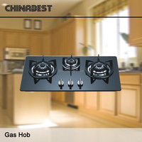 Hot Sales High Quality Kitchen Built-in Gas Hob With 3 Burners