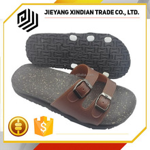 Hot sell EVA Outsole Material wood like ladies summer shoes