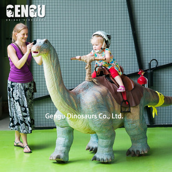 Dinosaurs Toys Simulation Walking Dinosaur Amusement Ride