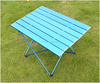 Outdoor camping folding aluminum dining table for sale