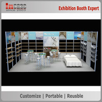 Attractive versatile design used advertising trade show booth display