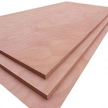 Commercial grade maple aluminum faced plywood