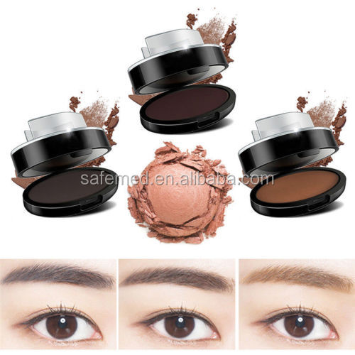Waterproof easily using eyebrow Stamp powder