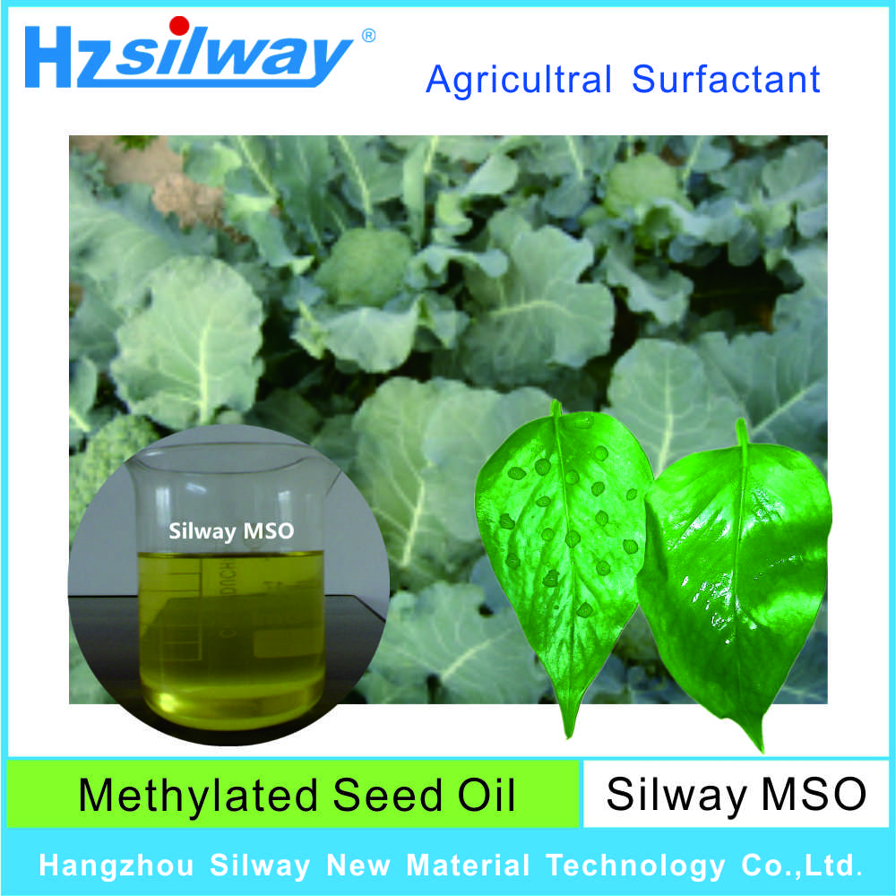 Methylated seed oil Silicone Surfactant Silway MSO for agricultural