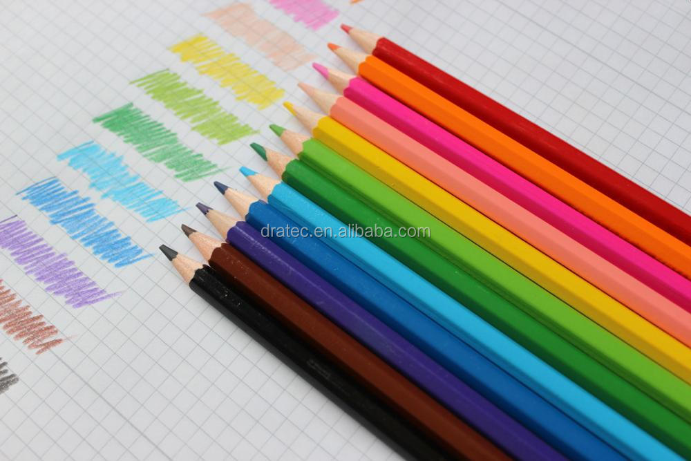 Bi color pencils, twin color pencils, 12/24 color pencils