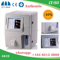 60 Sample speed double channel hematology analyser price / blood test hematology equipment / clinical laboratory instrument