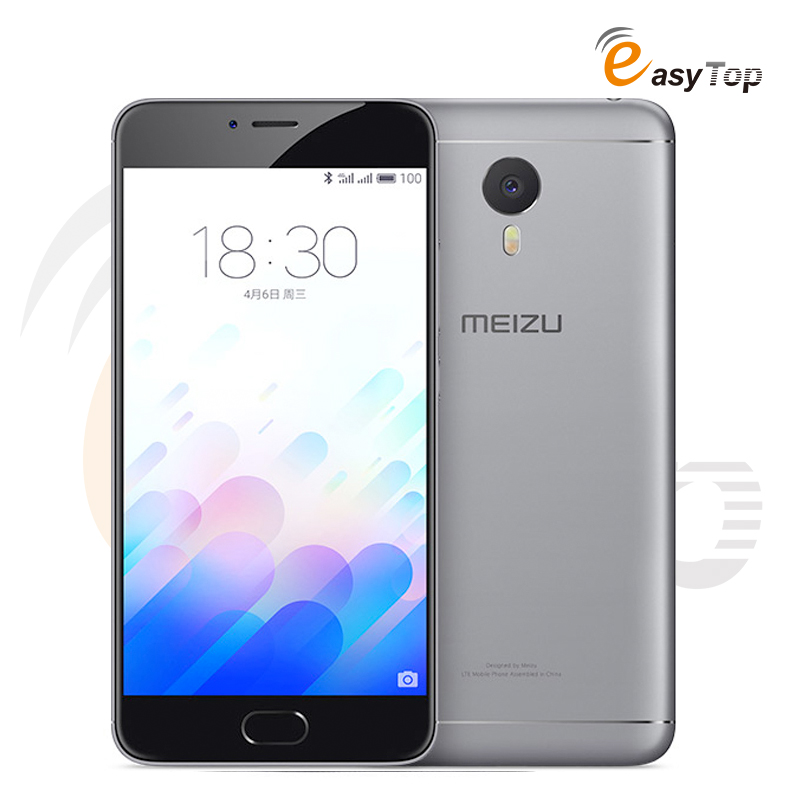 "Original Meizu M3 Note LTE 4G Mobile Phone MTK Helio P10 Octa Core 5.5"" FHD 1920x1080 3GB 32GB 13MP Android 5.1 Touch ID 4100mAh"