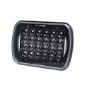 New Arrived!!! 5X7 72w Car Rectangular LED Headlight for Excavator, truck, heavy machinery equipment with DRL
