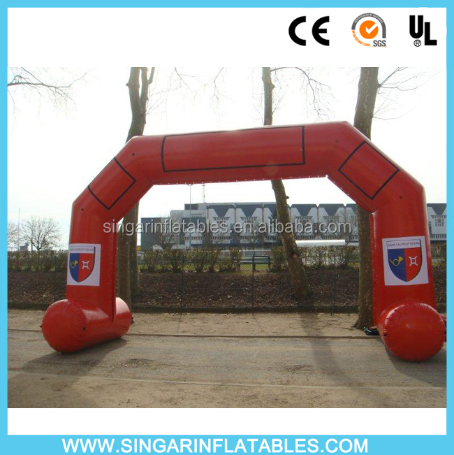 Cheap inflatable arch rental,inflatable advertising arch with velcro