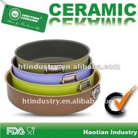 Aluminum Ceramic Coating Round Grill Pan