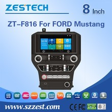 car dvd gps studio For Ford MUSTANG car gps with auto radio Bluetooth SD USB Radio wifi 3G