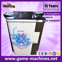 Qingfeng christmas lottery Music Marble 2P ball game machine chinese kids games