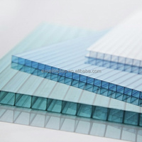 Grade A 4mm 5mm 6mm 8mm Twin wall Polycarbonate hollow sheet