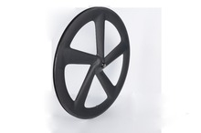 700c Toray T700 carbon clincher five spoke racing wheels for road bicycle