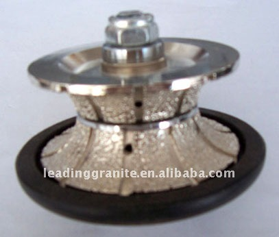 diamond router bit for profiling marble