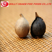 Green agricultural organic black garlic