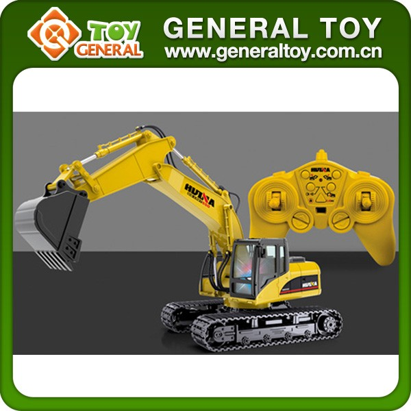 4CH RC Construction Toy Trucks Excavator RC Excavator Toys