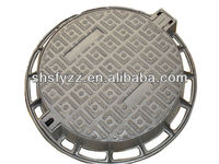 EN124 D400 Circular double seal iron inspection cover