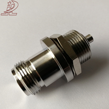 MIC1.13 cable rf coaxial n female jack bulkhead connector