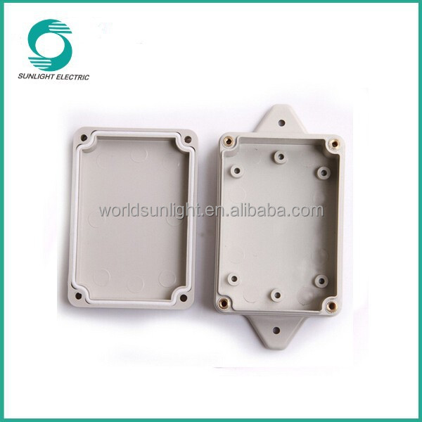 New design aluminum die cast junction box, anti-UV electronic explosion proof plastic junction box