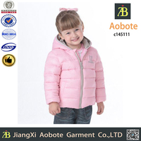 2015 New Fashion Customized Outdoor Cute Baby Down Jacket