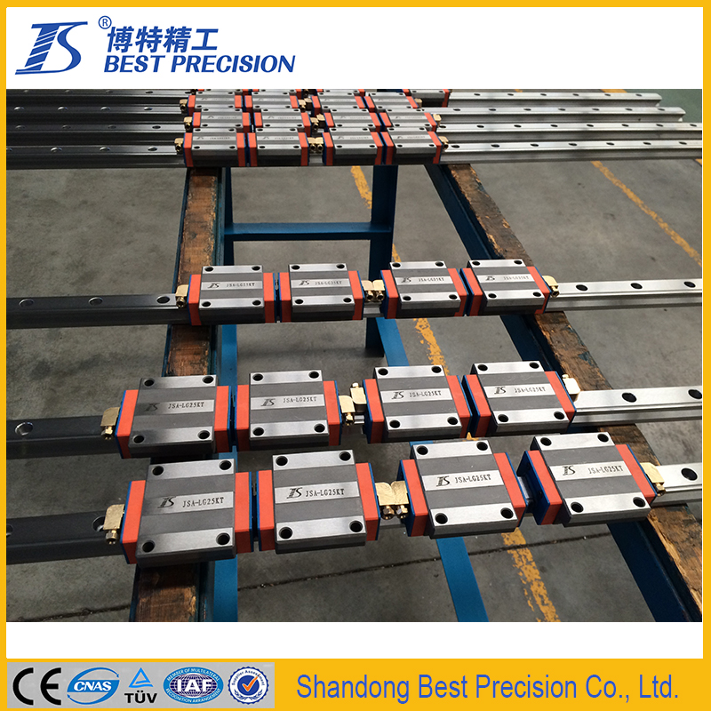Professional manufacture linear guideways with block
