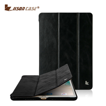 Jisoncase Guangzhou Supplier Leather Stand tablet For iPad 10.5 Slim Flip Hard Case Cover