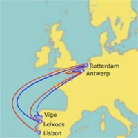 china to or from Europe & Mediterranean Sea --- logistics and 3pl services