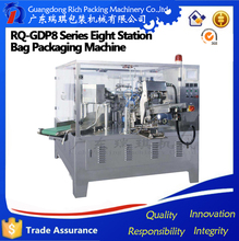 Automatic corn powder gusseted bag packing machine