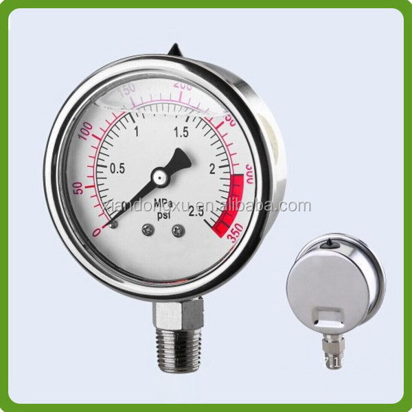 Top grade exported air pressure gauge meters