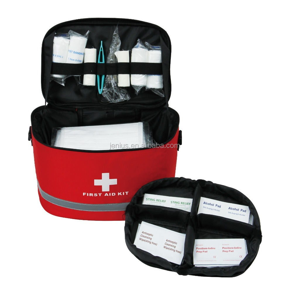 Best Seling Auto Roadside Family Emergency First AId KIt Bag