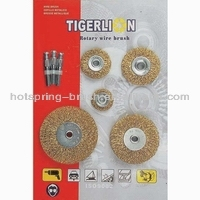 steel wire wheel brush set