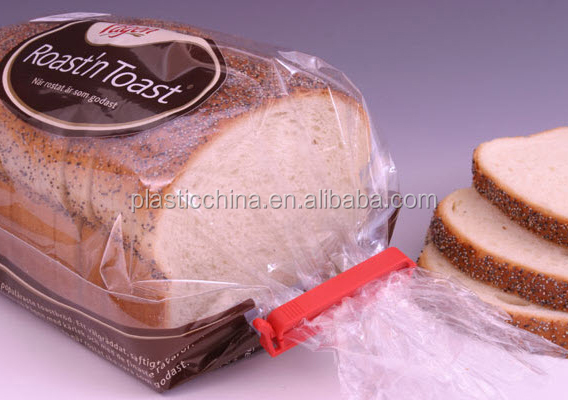 eco-friendly recyclable high quality plastic bread clips