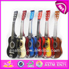 2015 New kids wooden guitar,popular children 39 inch wooden guitar and hot sale baby wooden guitar W07H024