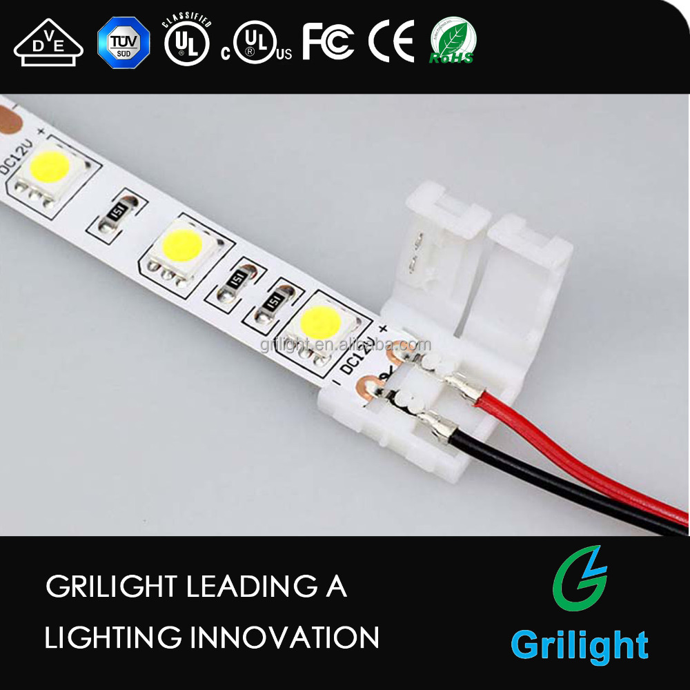 2pin and 4 pin led connector waterproof led strip light connector