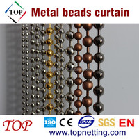 Stainless steel ball chain curtain/Metal beads curtain