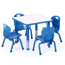 Popular Kids Table and Chairs Set Carton Furniture Plastic Study Desk,Preschool furniture