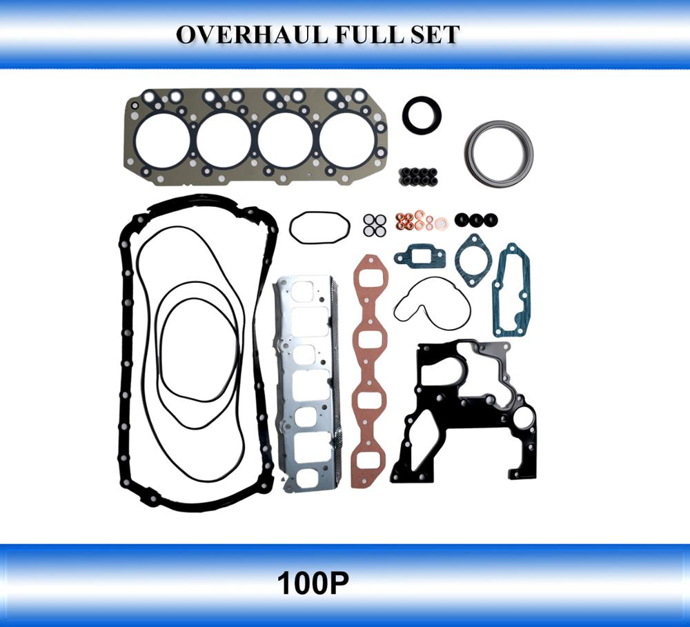 Spare parts engine pasts 100P gasket